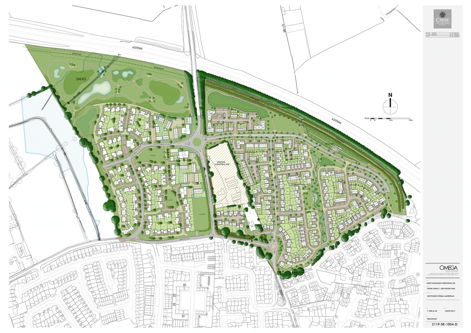 Overall site master plan for Site plans online