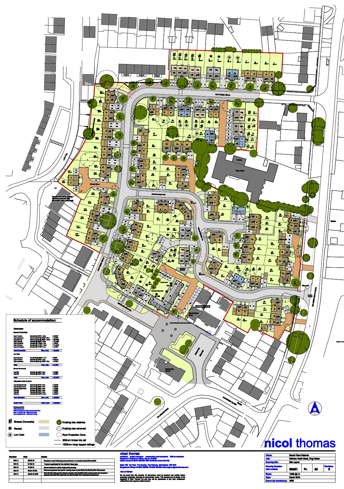 A downloadable version of the site plan is available here for Site plans online